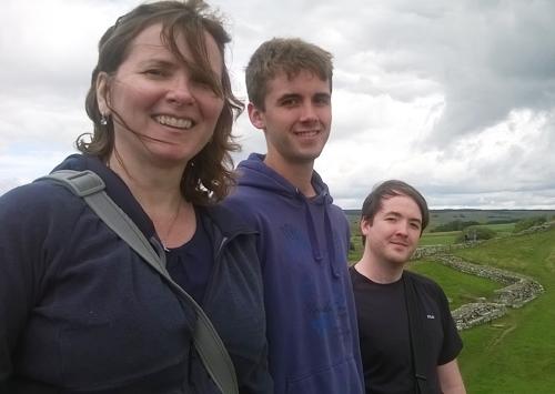 Pauline, Tim and Jake from Toronto