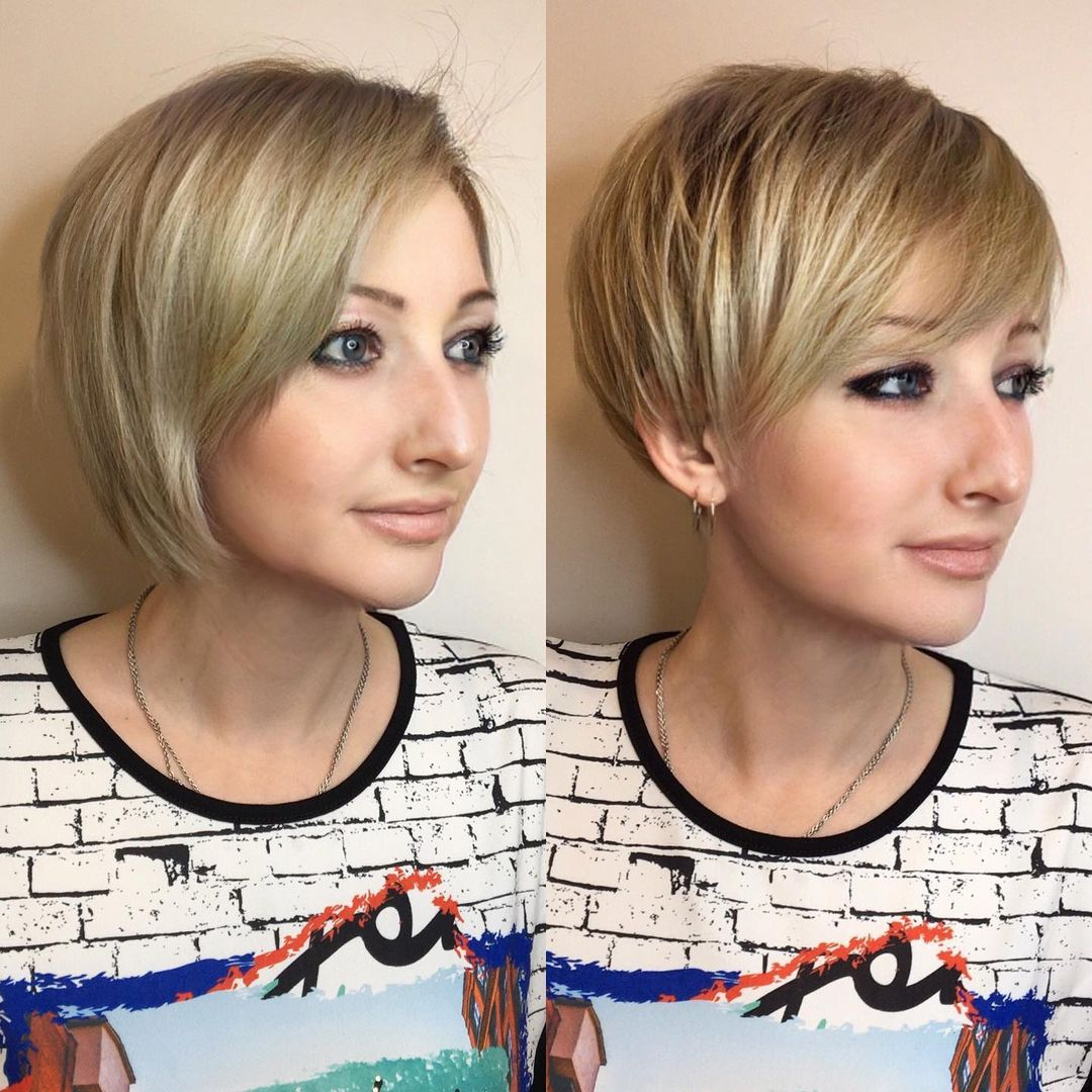 Short Layered Haircut for Thin Hair