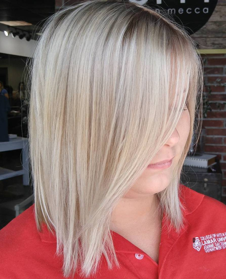 Blonde Bob for Fine Thin Straight Hair
