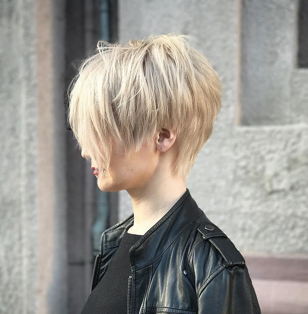 Choppy Messy Pixie for Fine Hair