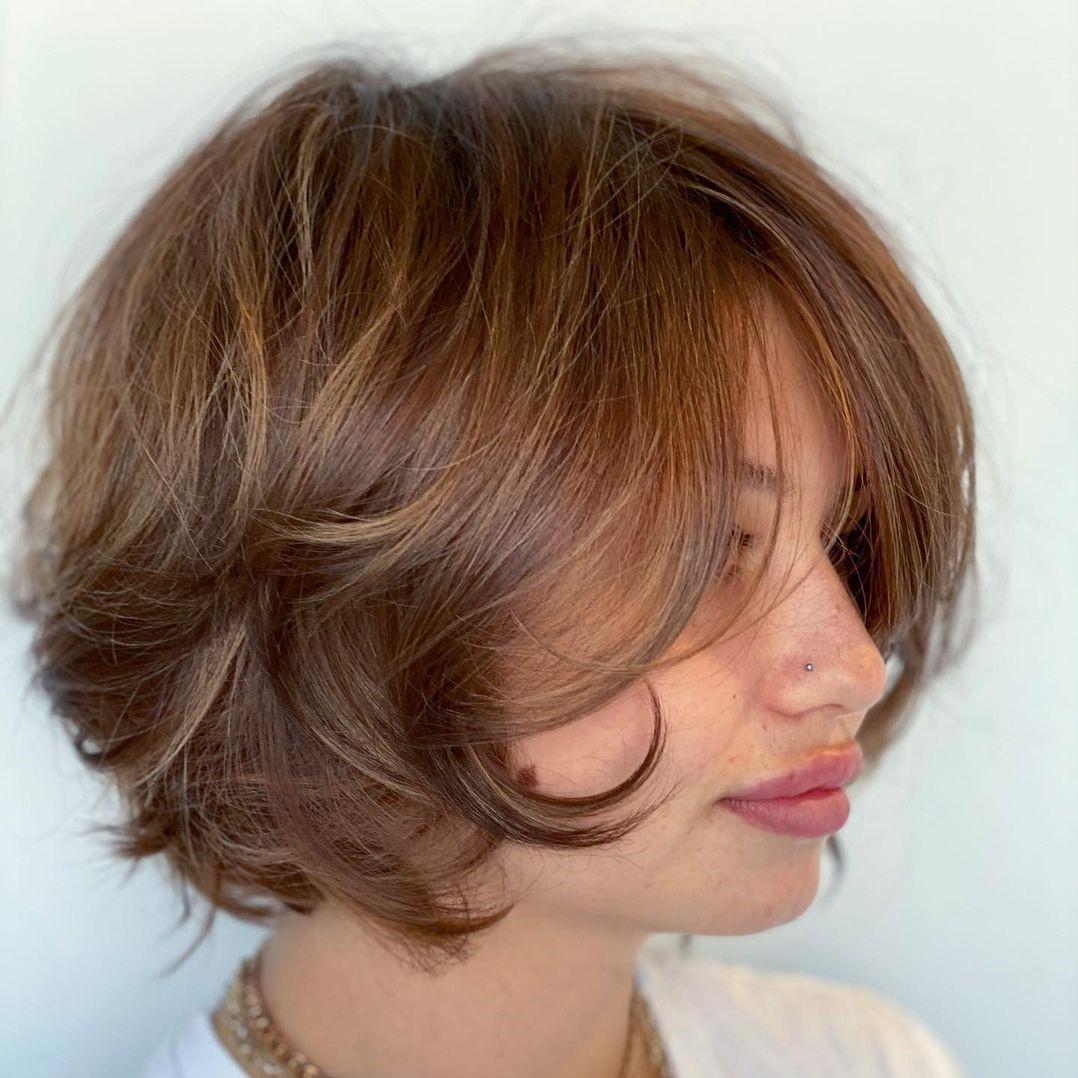 Chin-Length Cut for Thin Hair