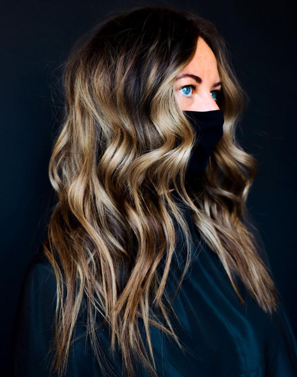 Amazing Balayage Highlights and Curls