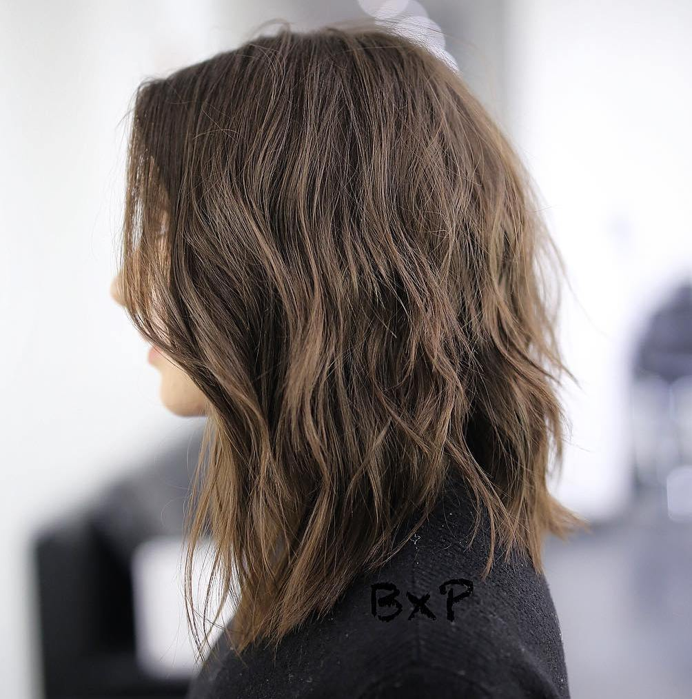 Shoulder-Length A-Line Bob