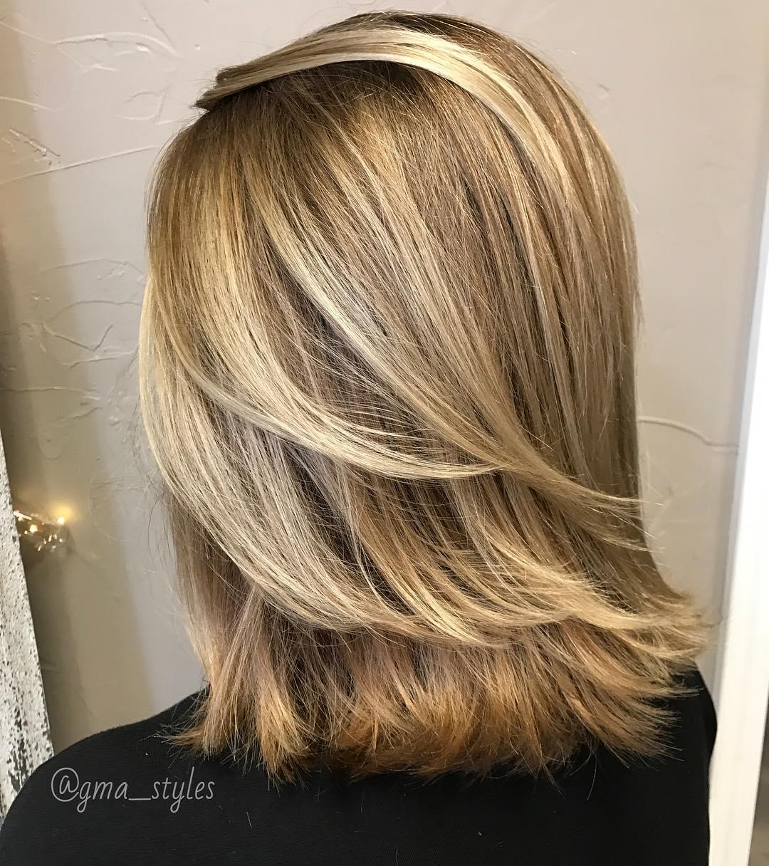 50 Best Medium Length Layered Haircuts in 2019 , Hair Adviser