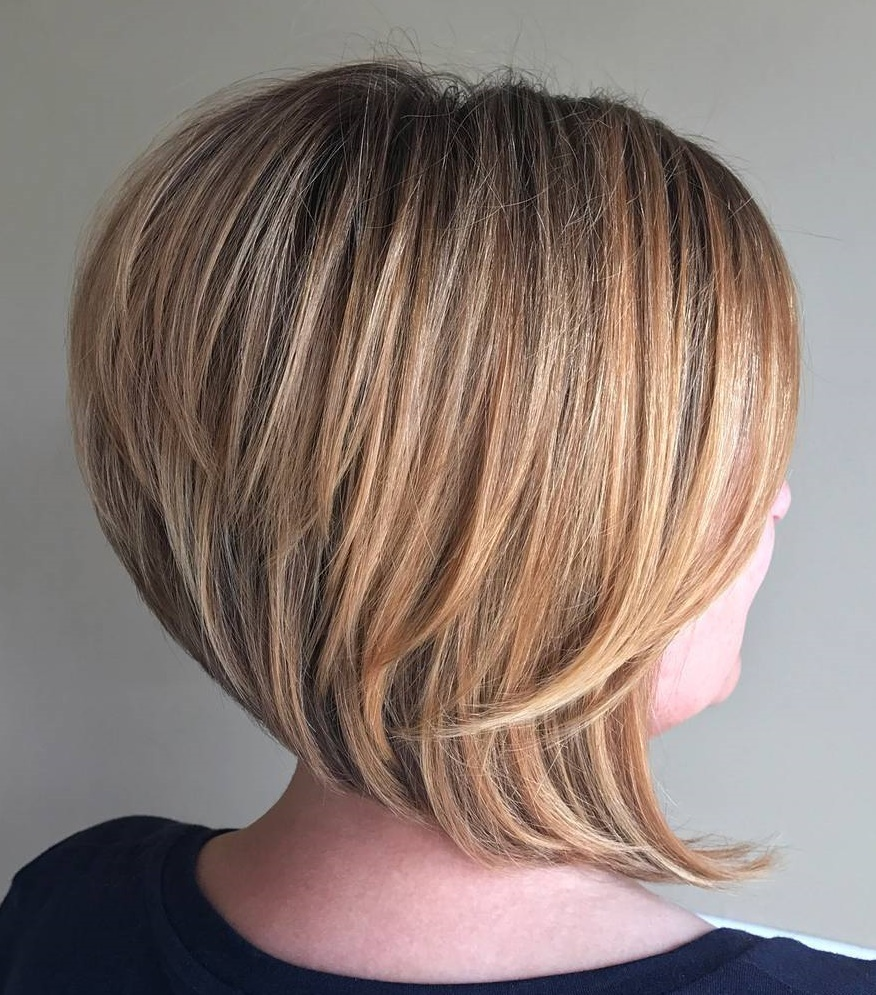 Inverted Angled Thick Bob
