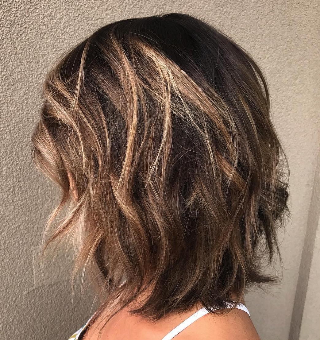 Low-Maintenance Layered Bob Haircut