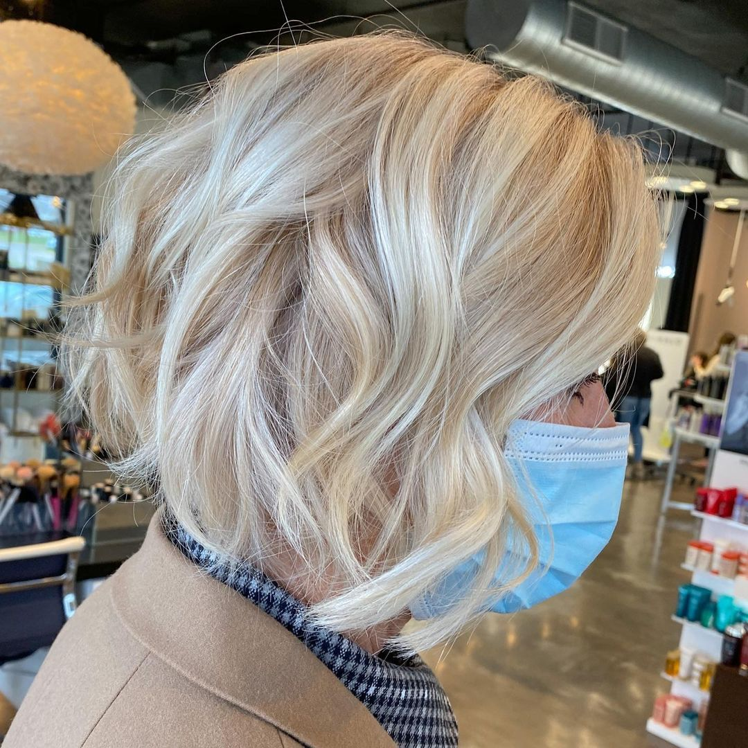Over 50 Short Hairstyle for Fine Hair