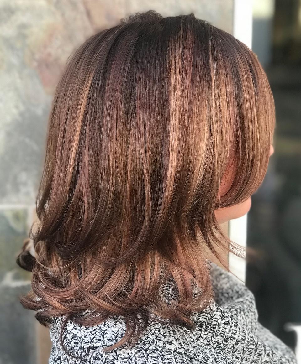 Mid length hair cut images