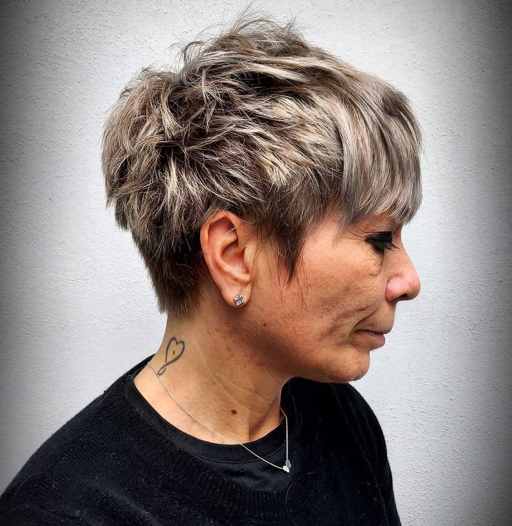 Female Short Choppy Haircut