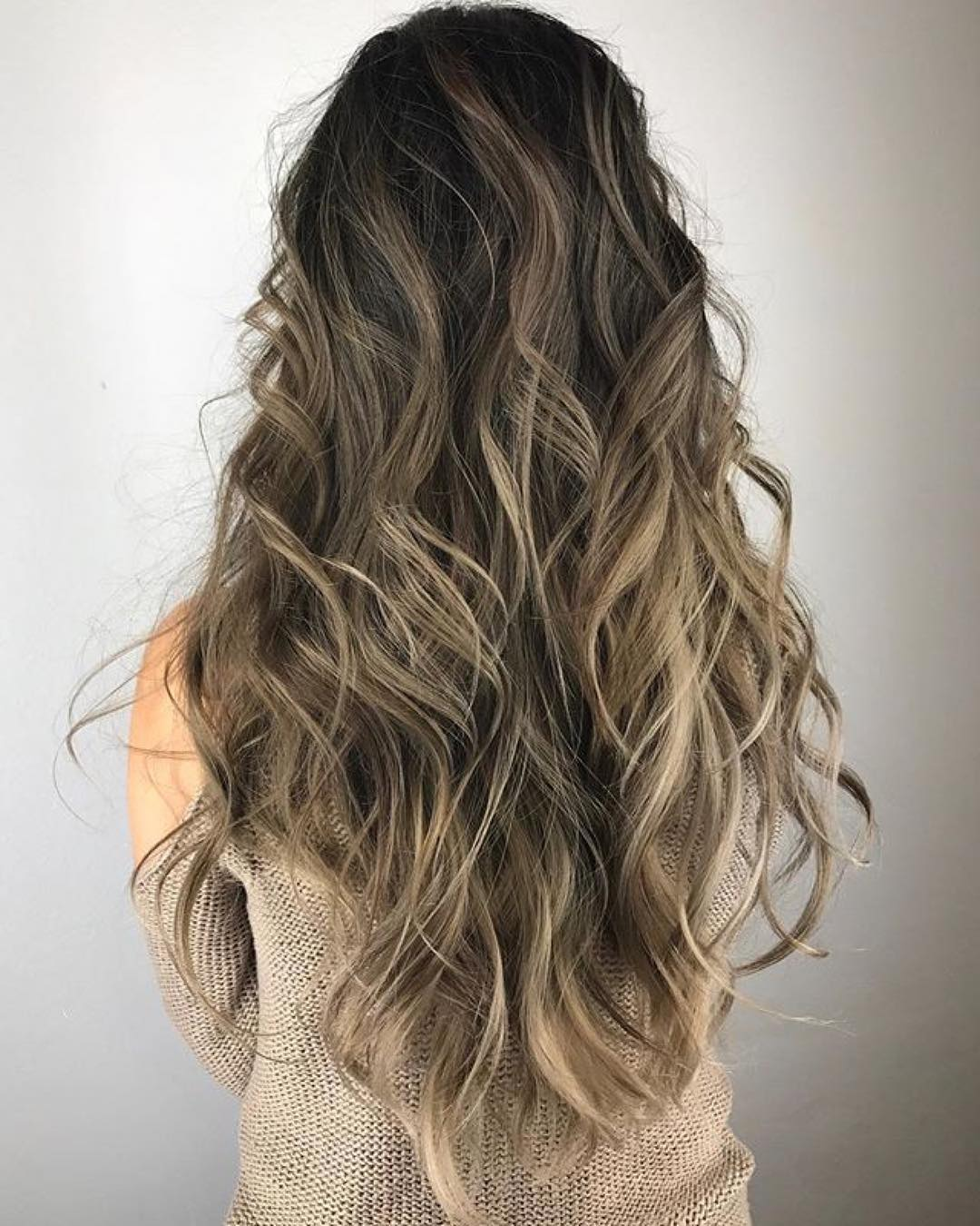 Waist-Length Curly Hairstyle