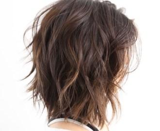 Medium Shag for Thick Hair