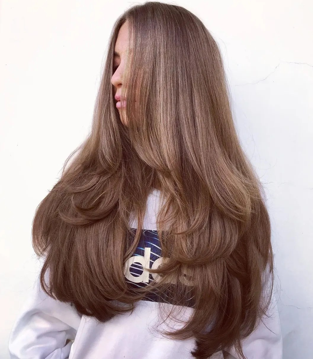 Three-Tiered Cut for Long Thick Hair