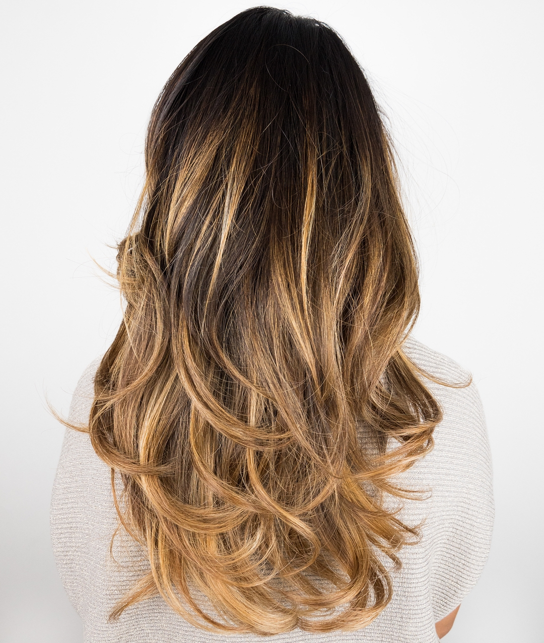 Long Hair with Long and Short Layers
