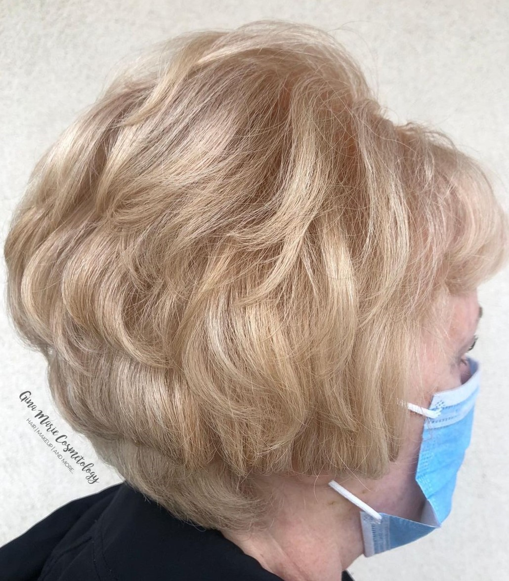 Short Cut for Fine Hair Over 70