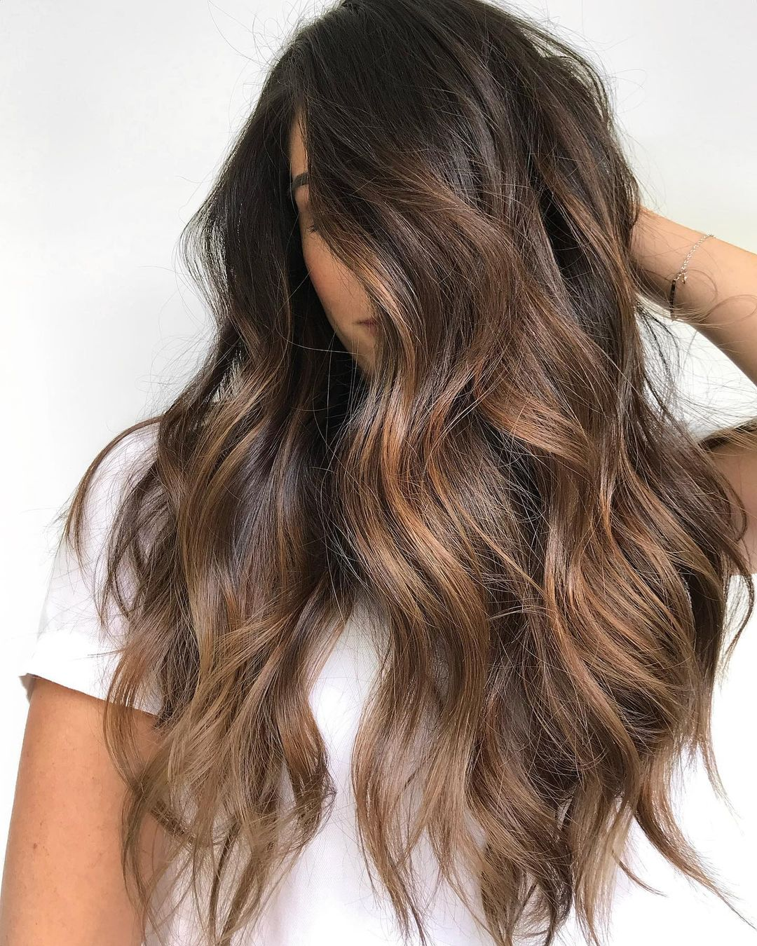 Beautiful Money Pieces for Brown Hair