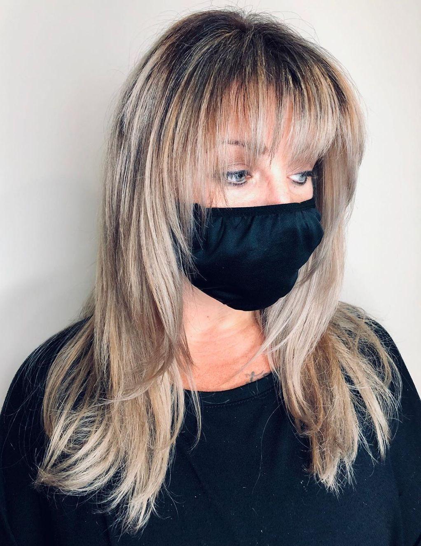 Bangs and Face-Framing Layers for Long Hair