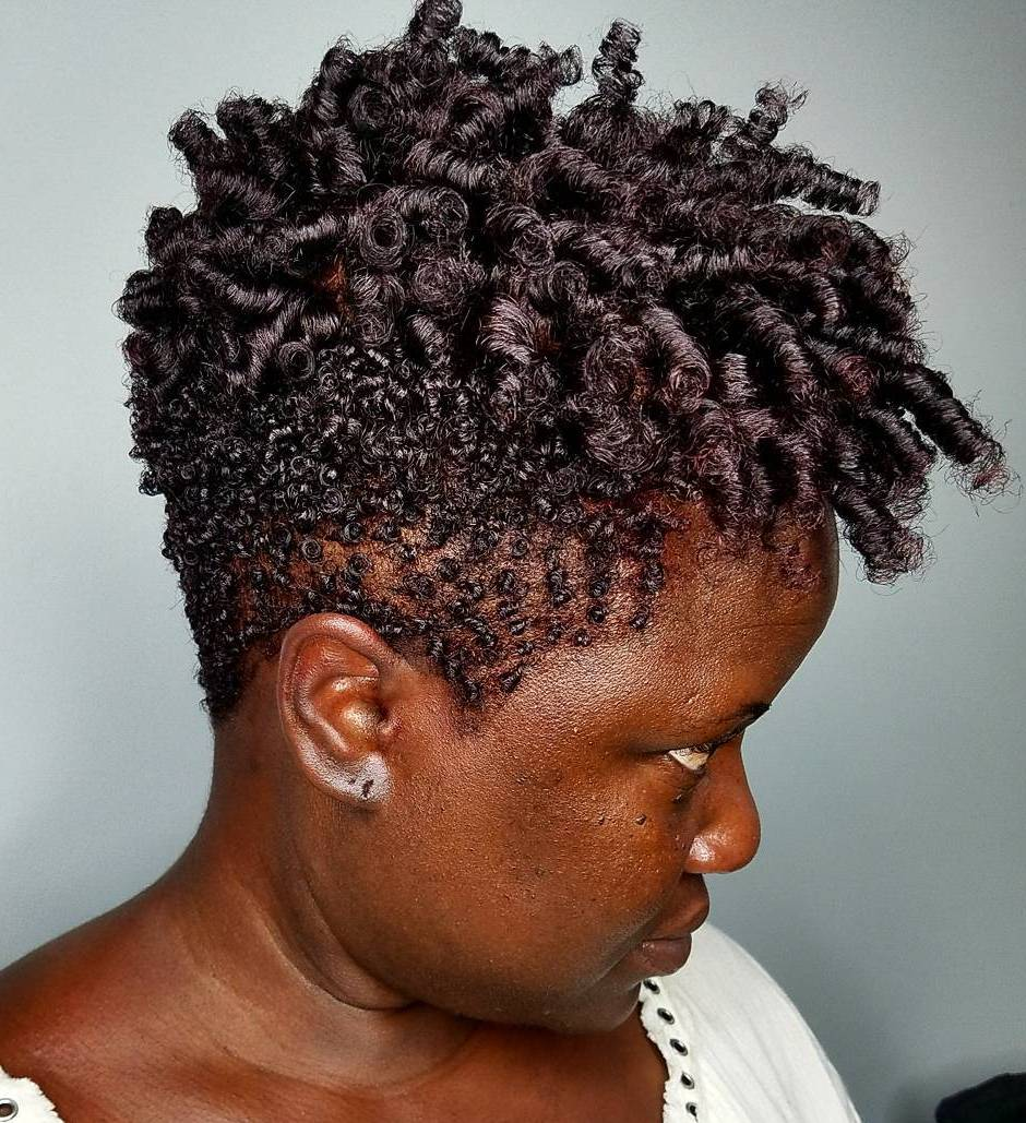 50 Breathtaking Hairstyles For Short Natural Hair Hair Adviser