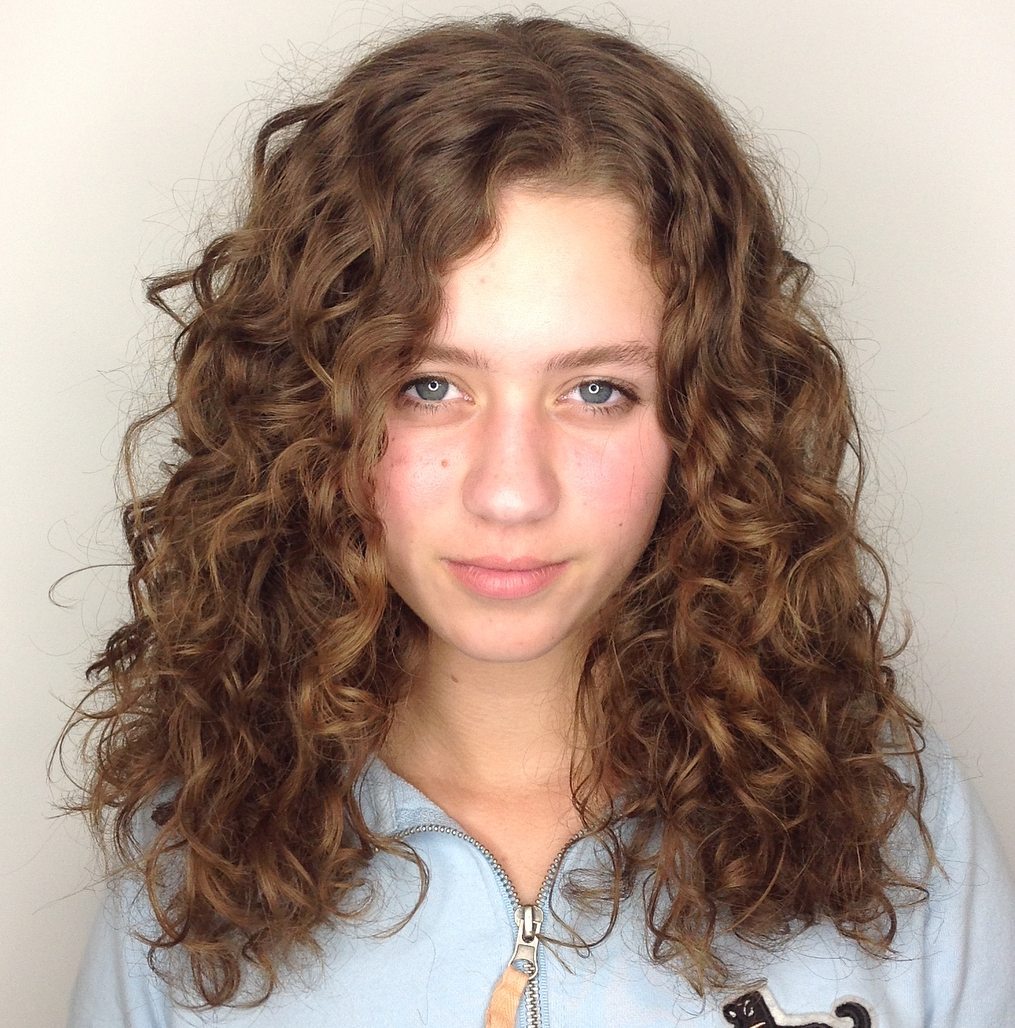 Layered Haircut for Long Natural Hair