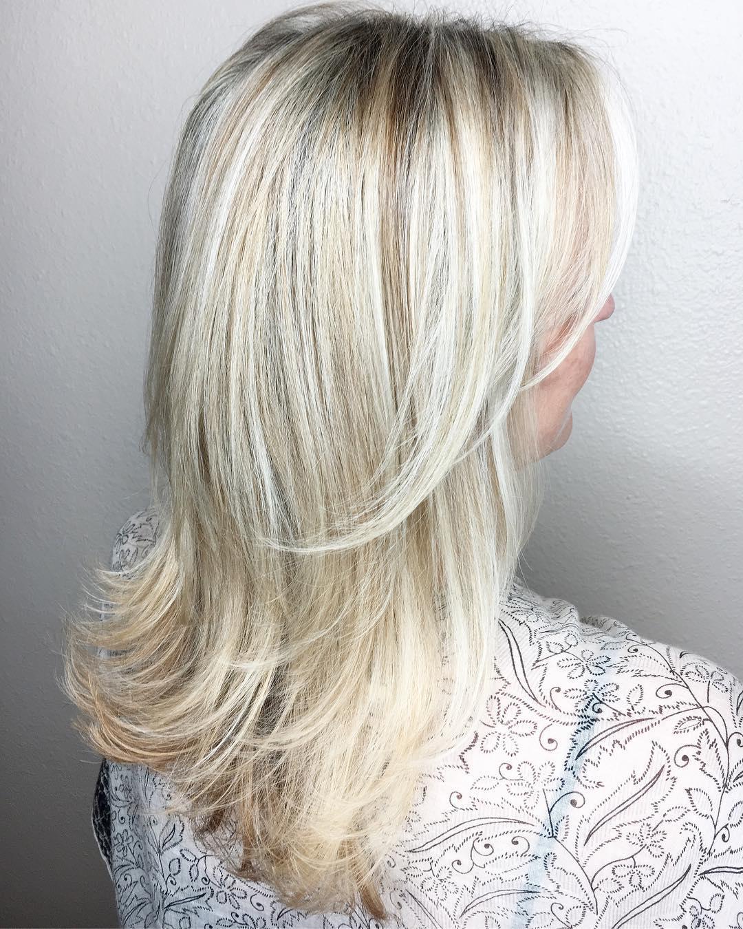 Long Bombshell Blonde Hair
