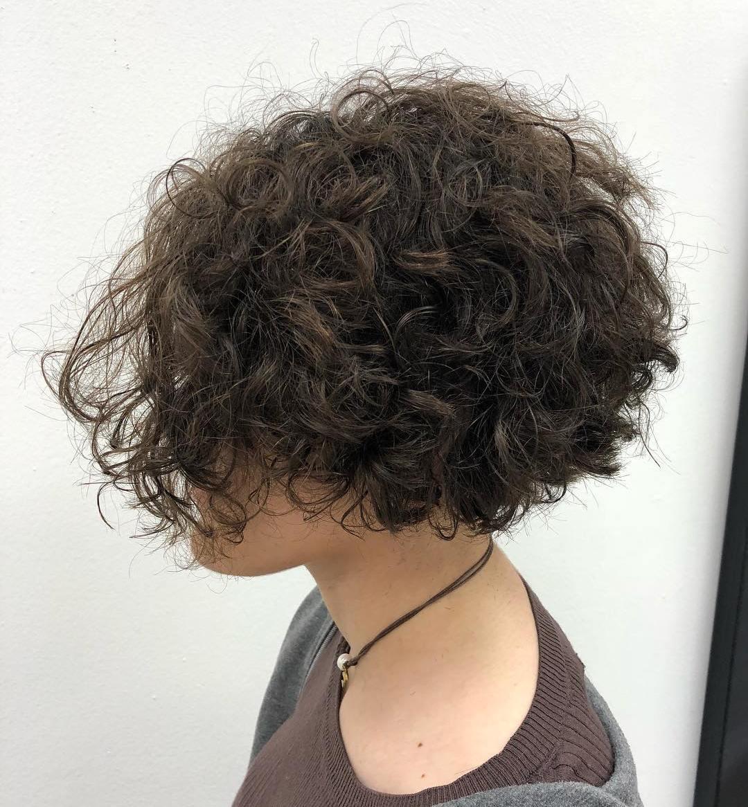 Short Bob for Thick Wavy Hair