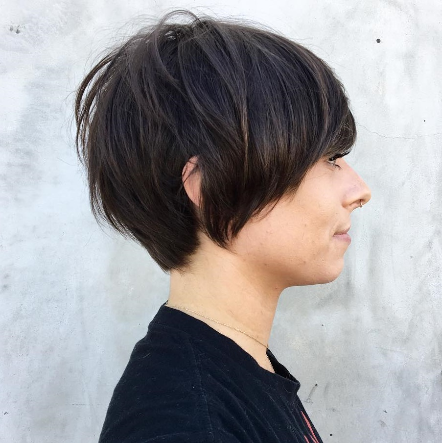 Bowl Cut for Thin Hair