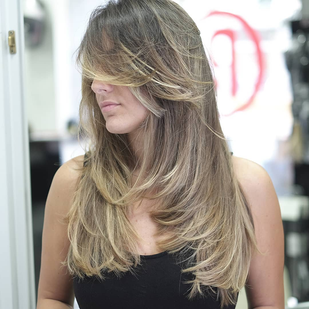 Gorgeous Layered Cut for Long Thick Hair