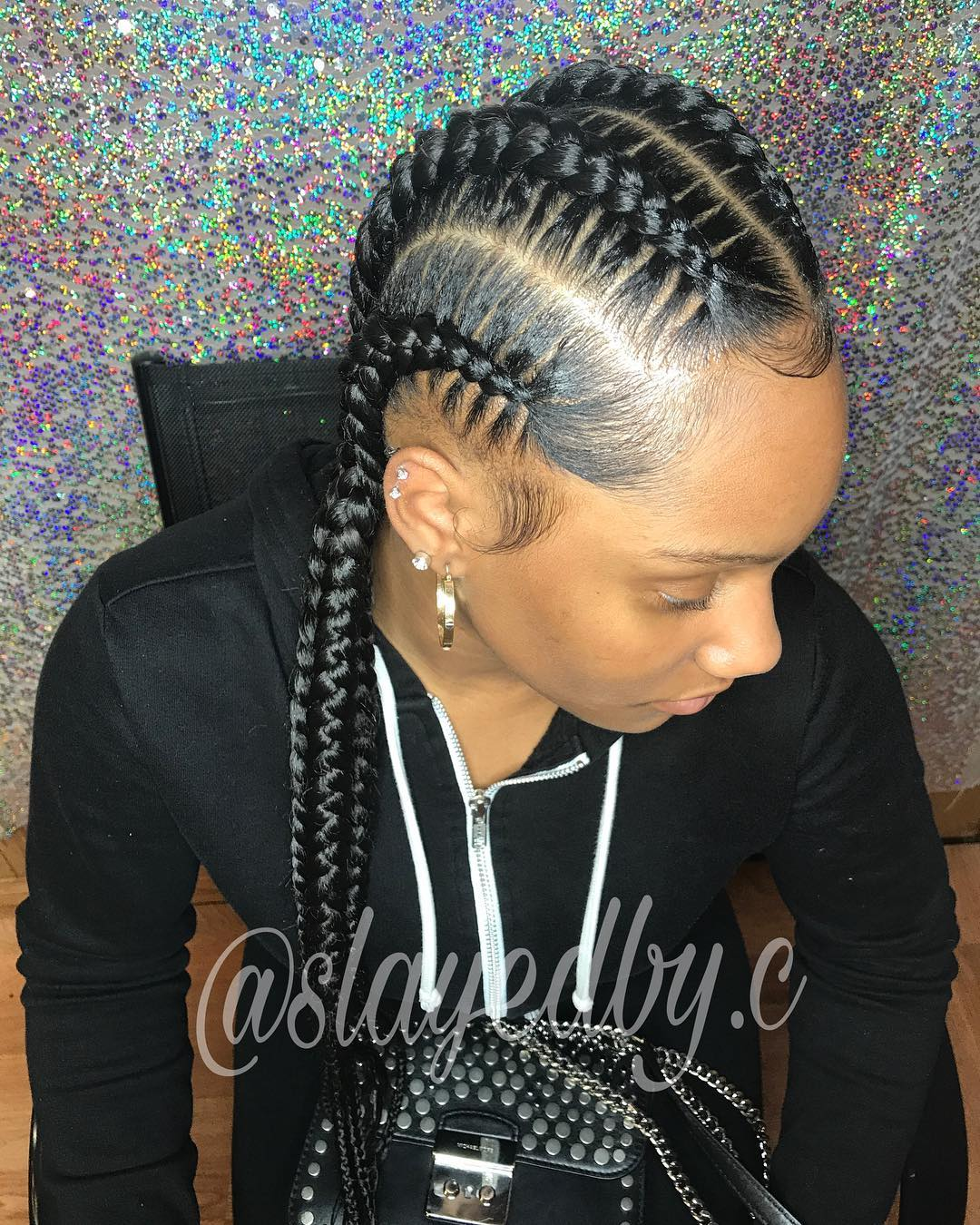 Glossy Protective Braids