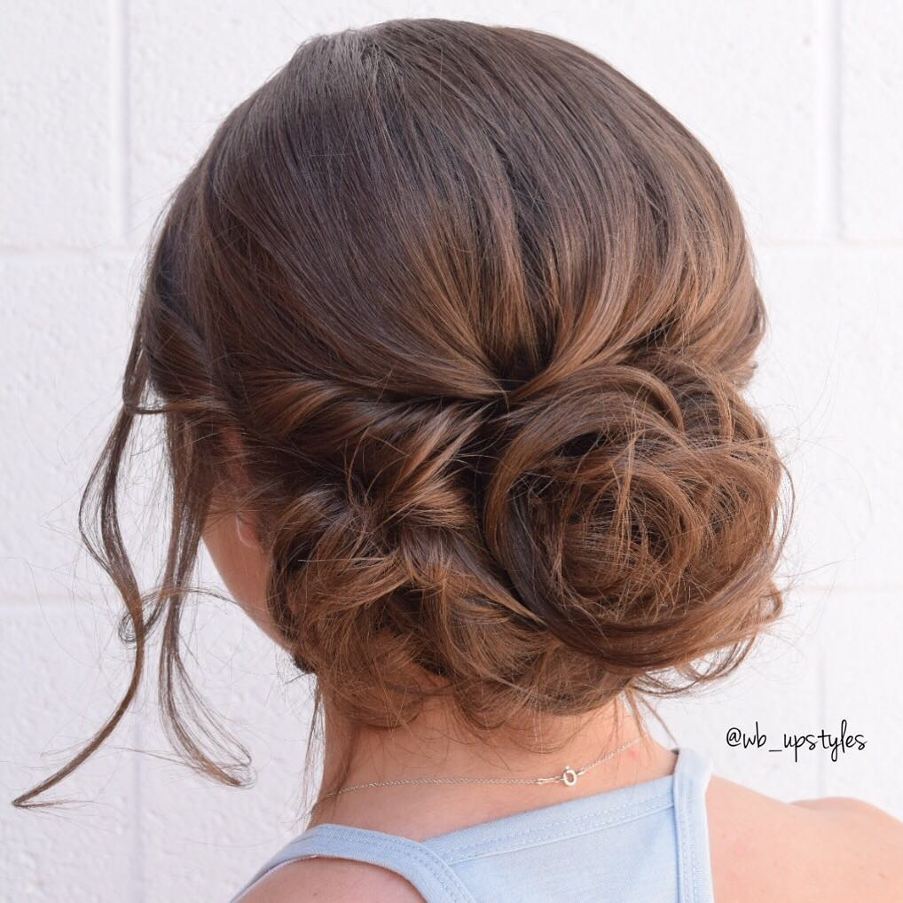 Formal Loose Bun Updo