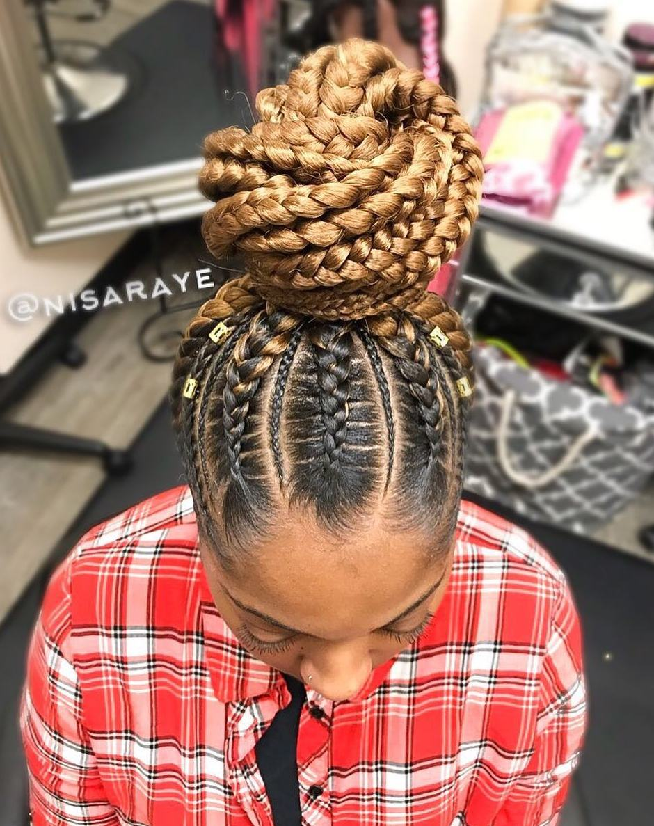Long Braided Hair with Extensions