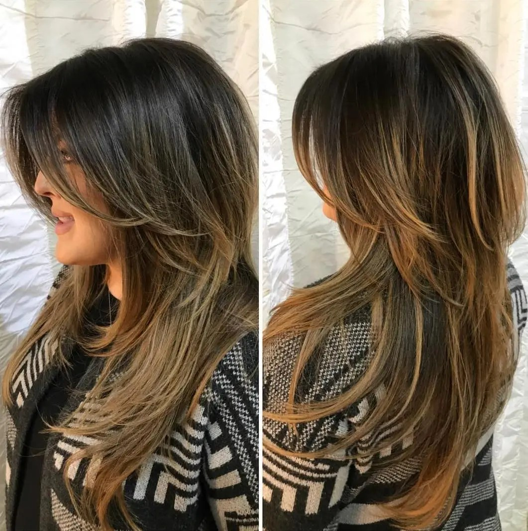 Two-Tier Long Layered Haircut