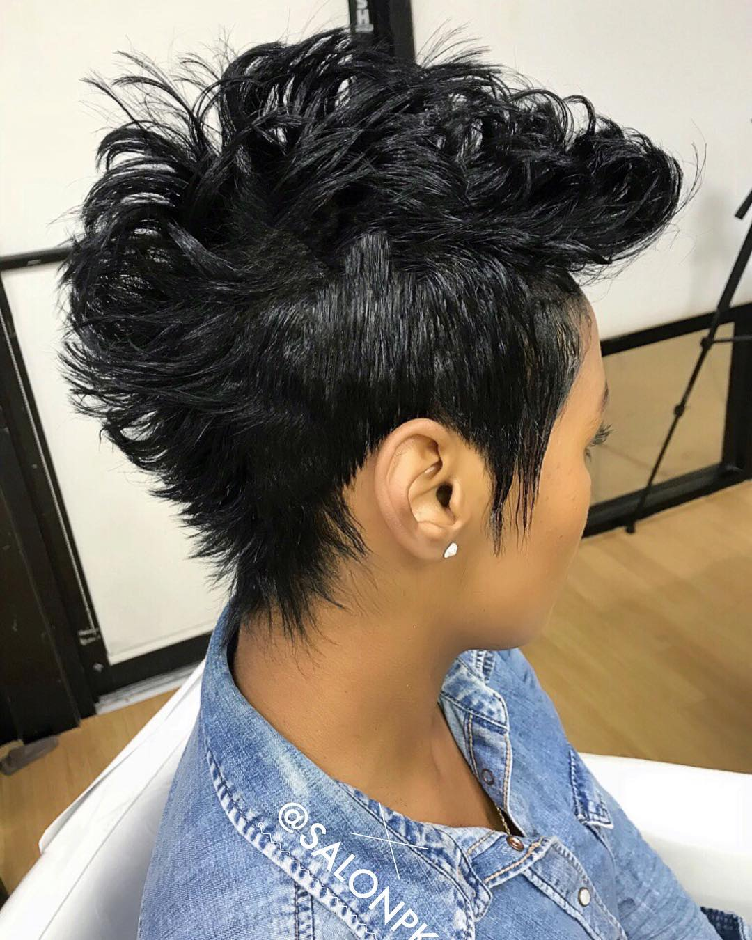 Beautiful Black Mohawk