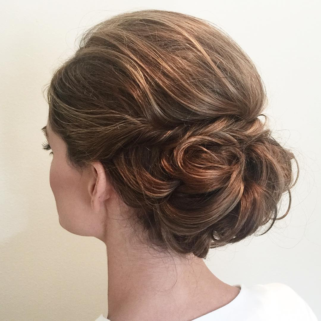 Updo with a Twist and Bouffant