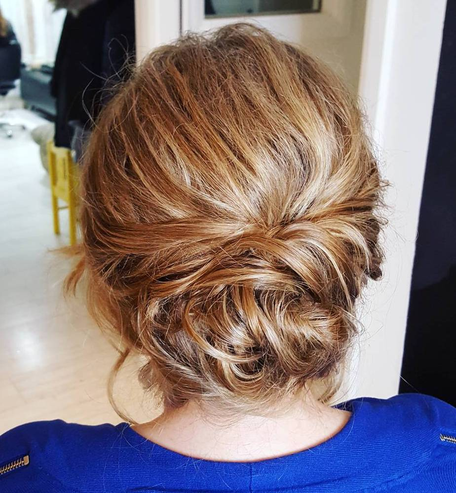 Easy Formal Medium Updo for Prom