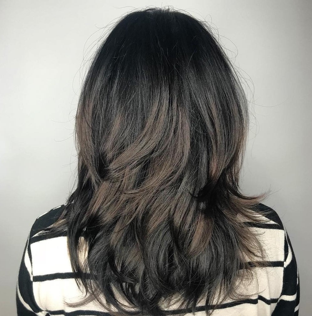 Layered Haircut for Women Over 50
