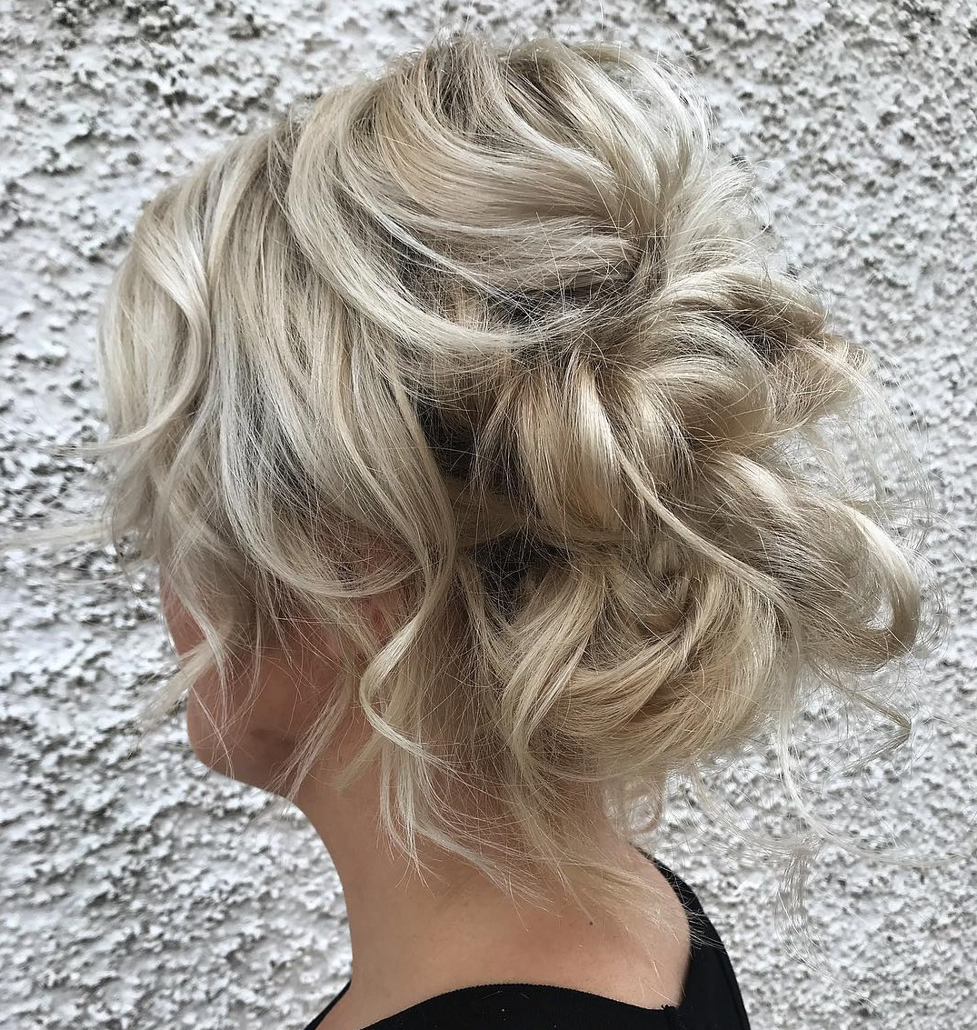 Easy Bedhead Updo