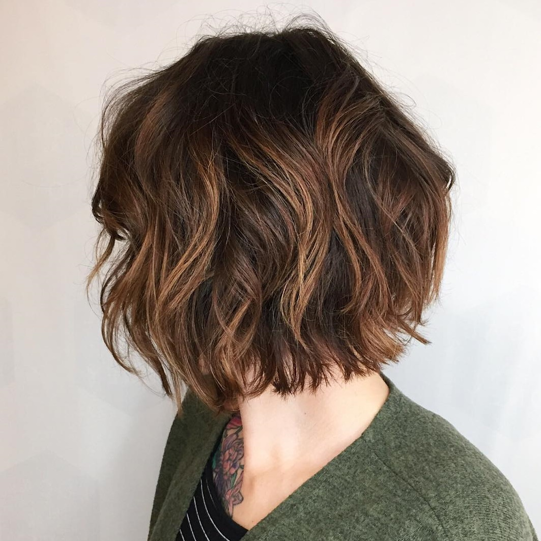 Messy Bob for Short Length Hair