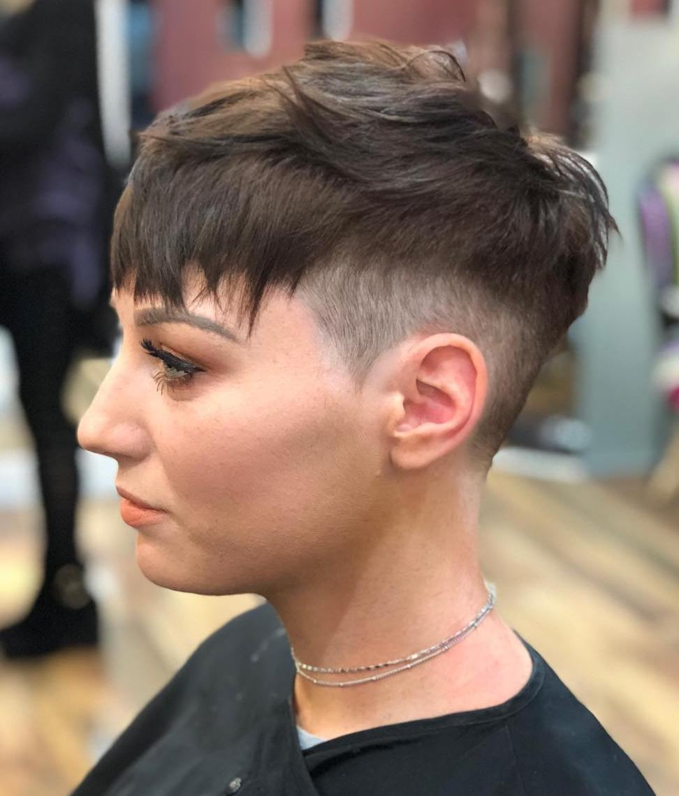 Cute Pixie with Fade