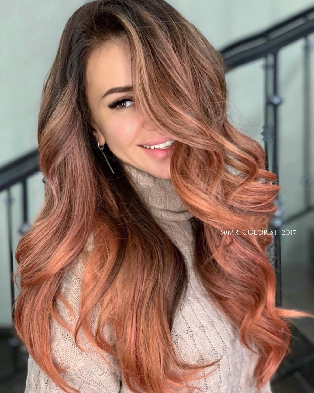 Best Hair Color for Hazel Eyes and Warm Skin Tone