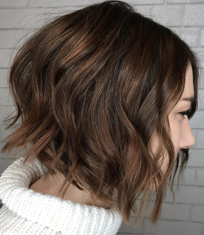 Sexy Disconnected Wavy Bob