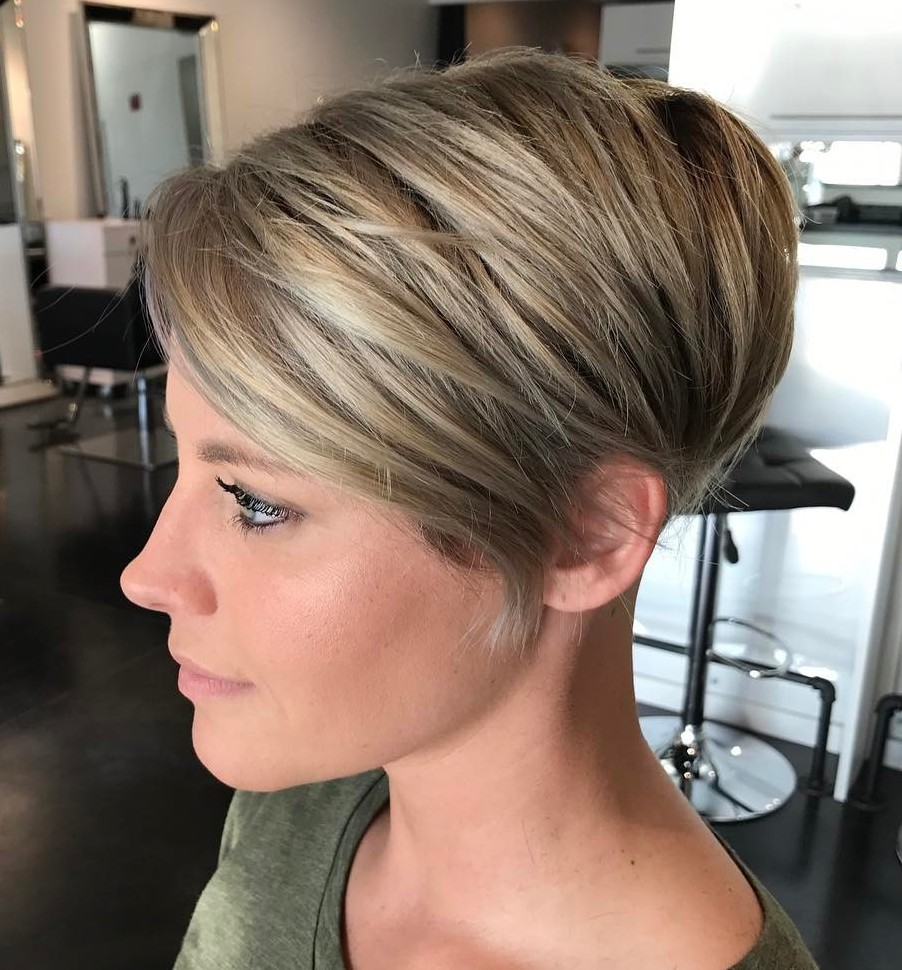 Elegant Tapered Pixie