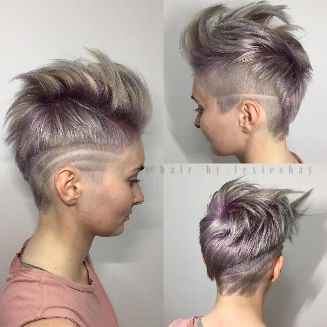 Shaved Asymmetrical Pixie