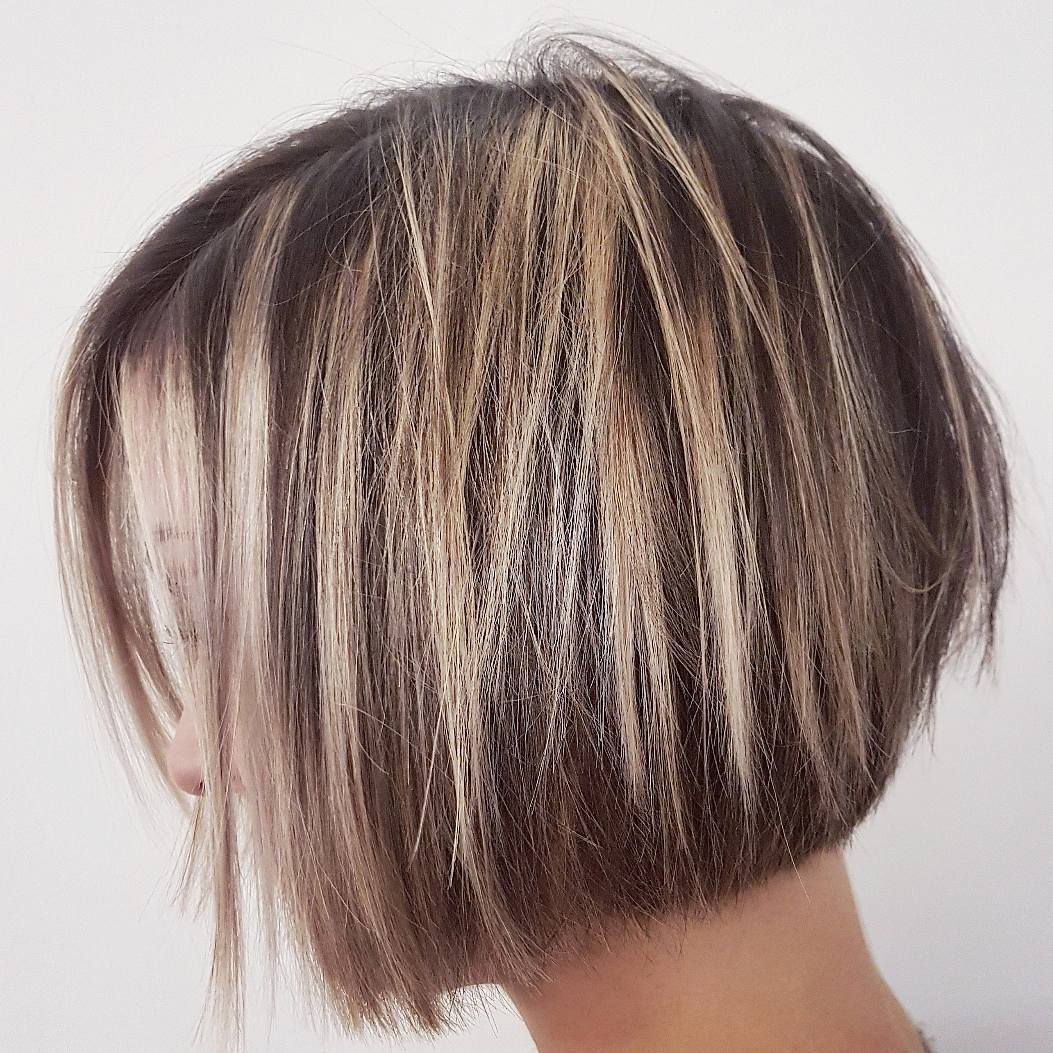 Stacked Bob Cut for Straight Hair
