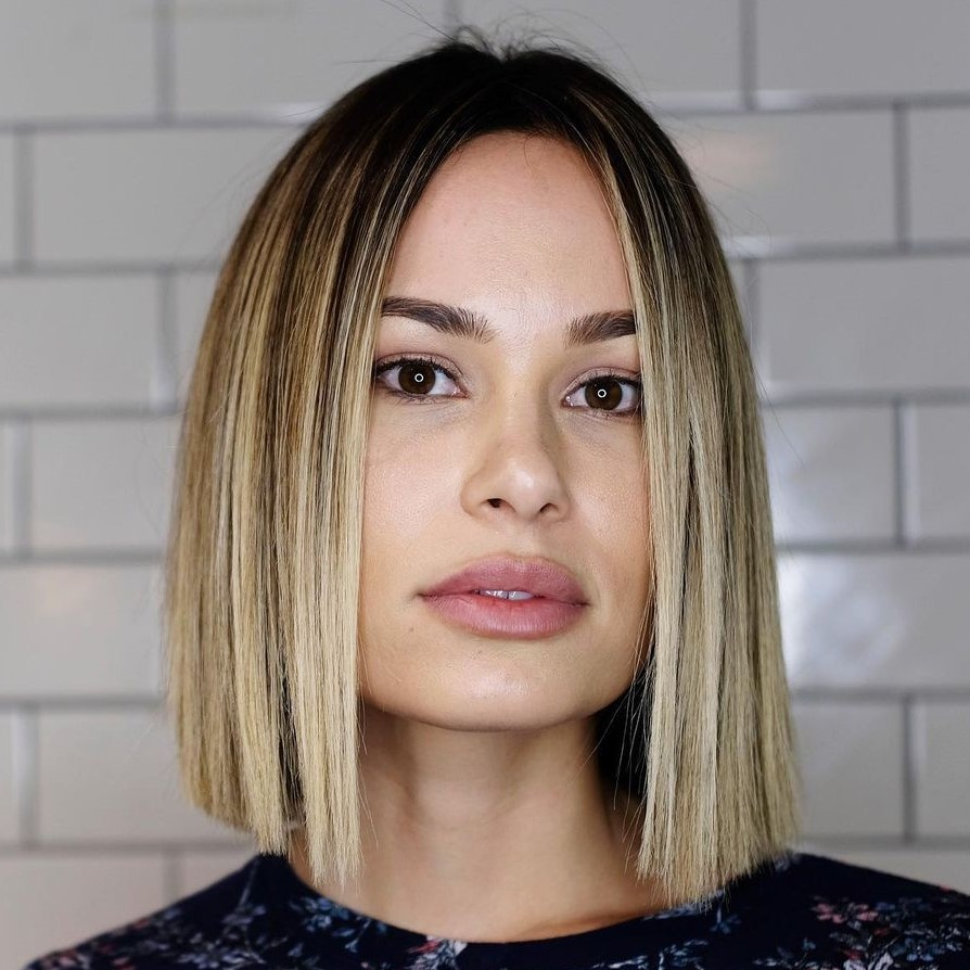 Blunt Bob for a Square Face Shape