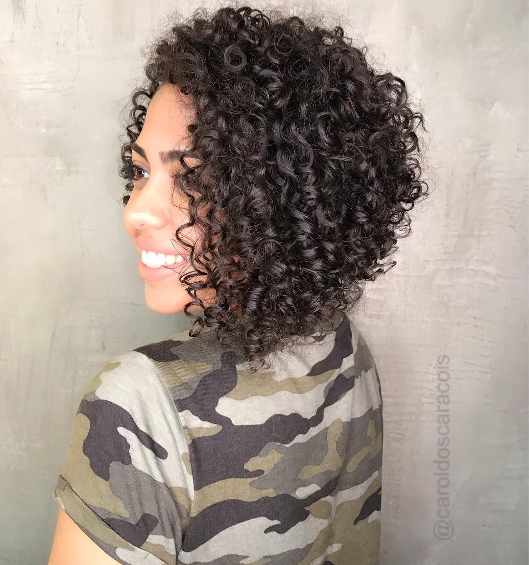 Inverted Bob for Curls