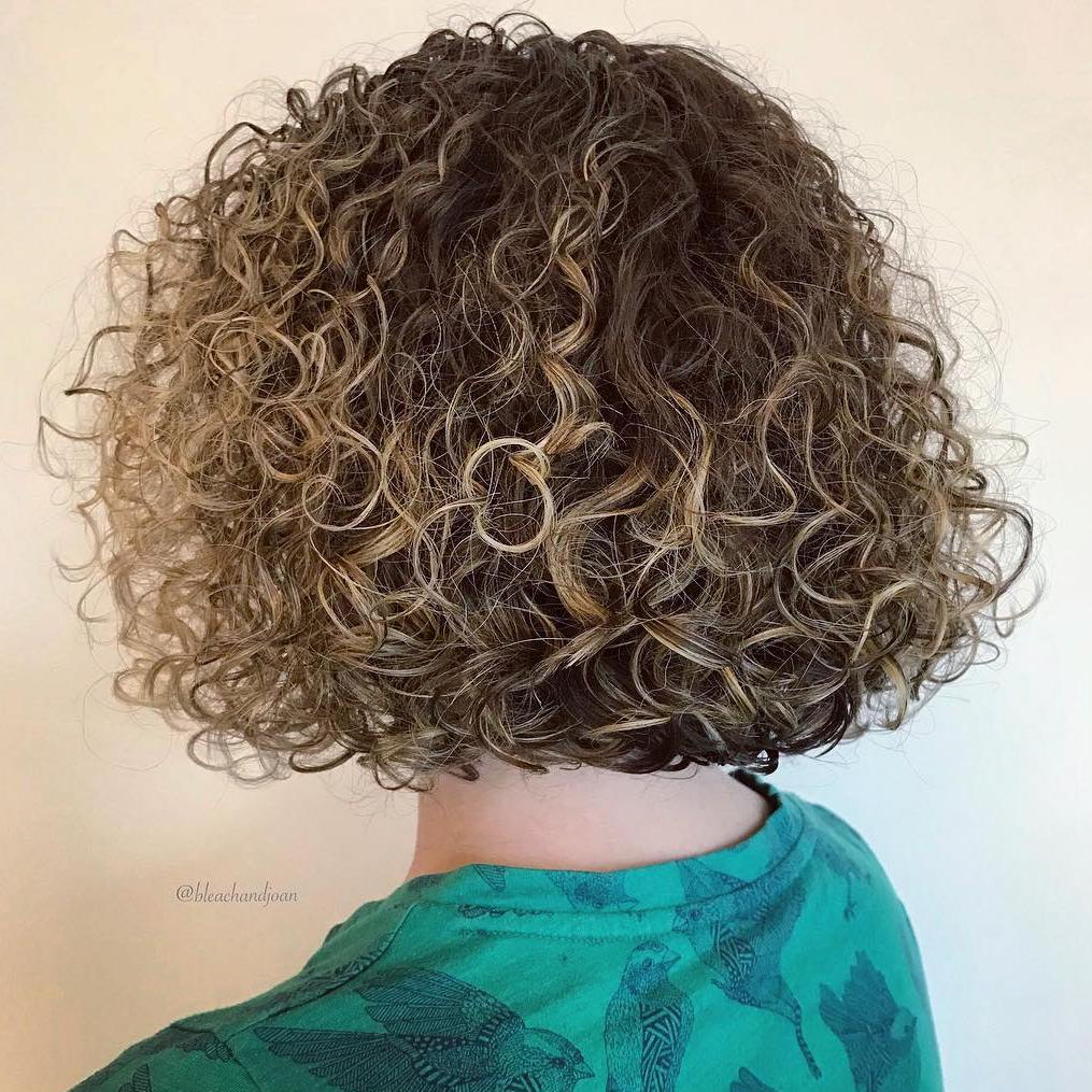 Chin-Length Bob with Blonde Highlights