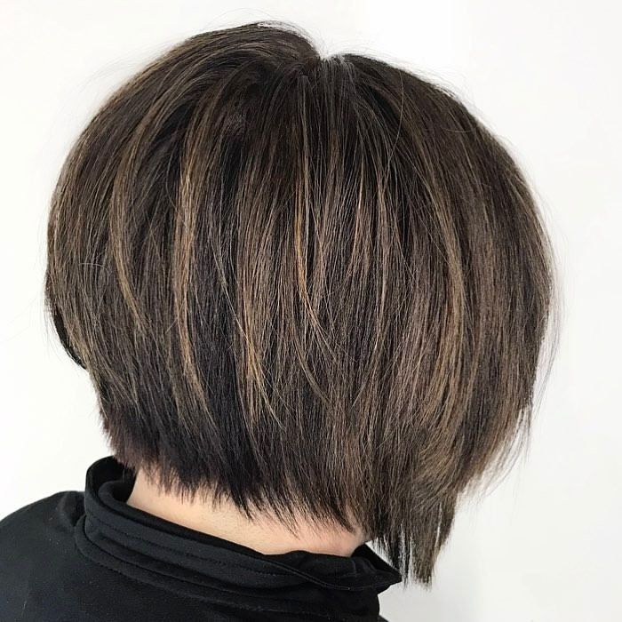 Short Bob with Razored Layers