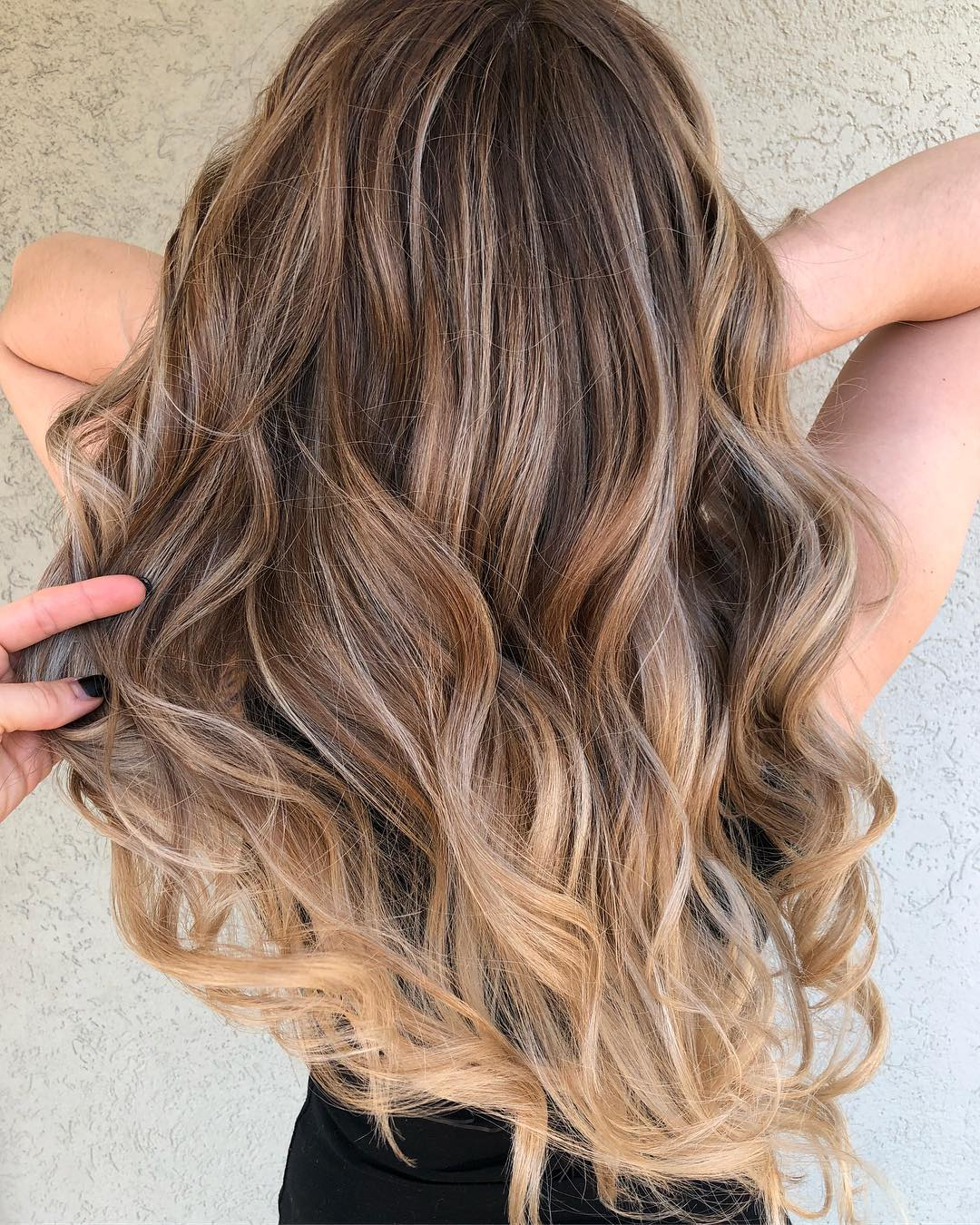 Bright Blonde Highlights for Brown Hair