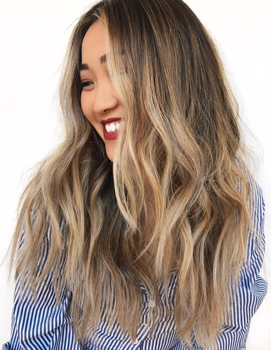 Cool Blonde Highlights for Ash Brown Hair