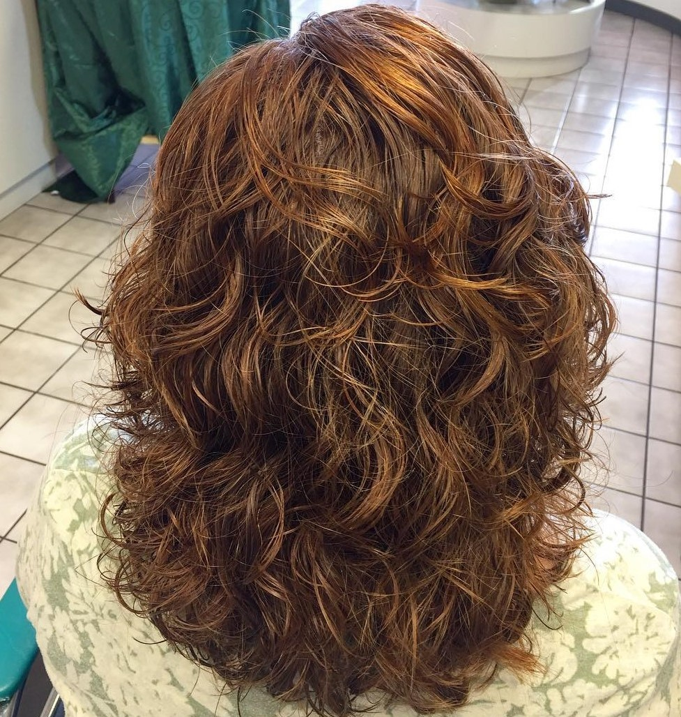 Medium Rounded Cut with Perm