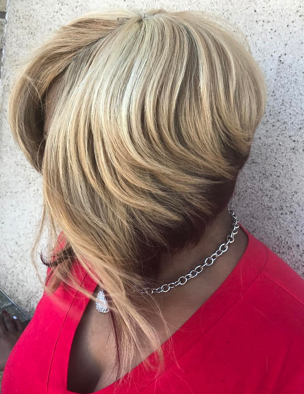 Angled Bob with Long Front Pieces